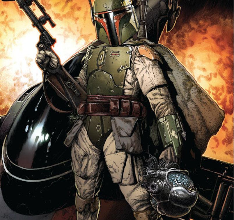 Sneak peek: Join the mayhem of Marvel's 'Star Wars: War of the Bounty Hunters #1'